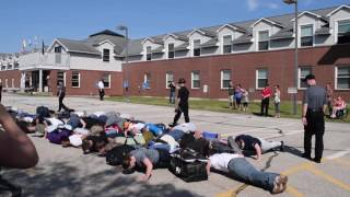 2016 New Hampshire Police Cadet Academy: Receiving the Cadets