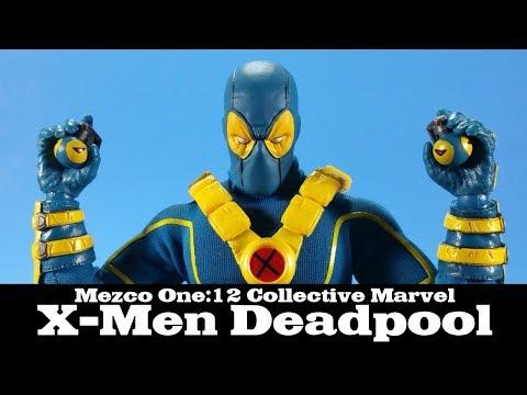 Mezco One:12 Collective X-Men Deadpool Summer Exclusive