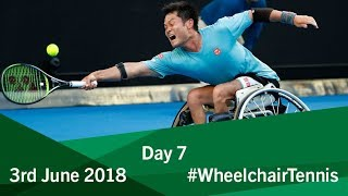 Men's Finals   Day 7   2018 BNP Paribas Wheelchair Tennis World Team Cup