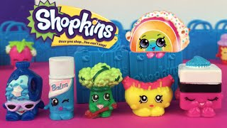 New Shopkins 2015 Frank Furter, Le Quirice, Broc, Coolio by DisneyToysReview
