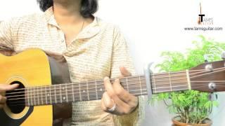 tomar ghore bash kore guitar lesson (Bengali folk guitar lesson) www.tamsguitar.com