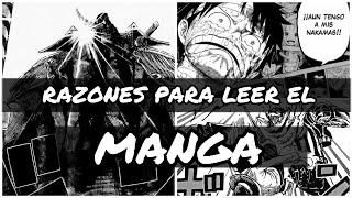 RAZONES PARA LEER EL MANGA DE ONE PIECE