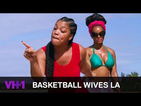 Basketball Wives LA | Mehgan James & Angel Brinks Lose Their Cool | VH1