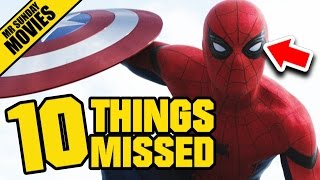 CAPTAIN AMERICA: CIVIL WAR Trailer 2 Easter Eggs, References & Things Missed