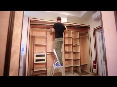Двери купе в шкаф своими руками