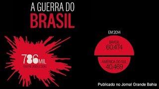 Brasil, um país violento; confira documentário do Jornal O Globo