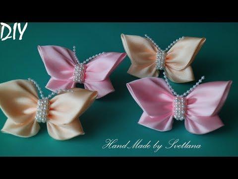 Xxx Mp4 Бабочки из атласной ленты Бантики 🎀Laço De Cetim 🎀 Satin Ribbon Bow 🎀laço De Fita 3gp Sex