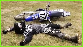 FUNNY DIRT BIKE CRASHES & FAILS 2017