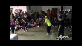 Street Cypher Chile #SCAbril2013 FINAL HOUSE DANCE /// Dzone vs Clandestinos Crew