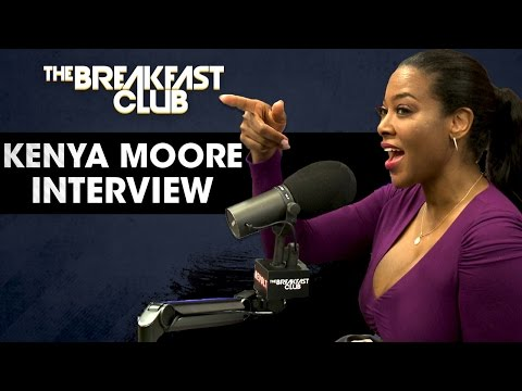 Xxx Mp4 Kenya Moore Dishes On Phaedra Parks Fake Love Why She S Packing Heat 3gp Sex