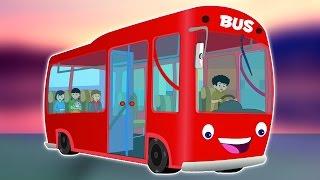 Колеса на автобусе | дошкольные песни на русском языке | Wheels on The Bus Song