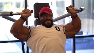 ROELLY WINKLAAR PHOTOSHOOT 2 DAYS OUT MR O 2018 | SWOLE O CLOCK