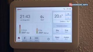 Eneco Toon slimme thermostaat en energiemeter review - Hardware.Info TV