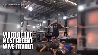 Video Of The Most Recent WWE Tryout