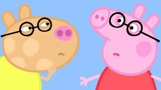 Peppa Pig en Español Episodios completos   Prueba de ojo de Peppa Pig!   Dibujos Animados