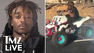 LIL UZI VERT Arrested After Dirt Bike Police Chase |  TMZ Live