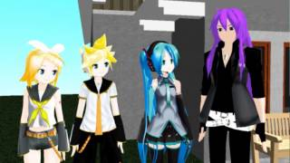MMD Bapp Day - (Talkloid)  with english subtitles
