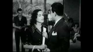 Farid EL Atrache - Nour El Houda - فريد ألاطرش و نور الهدى في قمر ألزمان