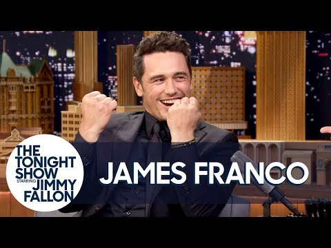 James Franco Does His Impression of The Room s Tommy Wiseau