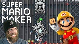 Saving Yoshi from an Insane Canadian [w/ POW Surfing!] - Super Mario Maker