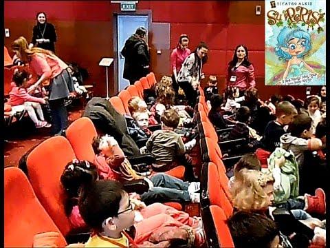 Kozyatağı Yeşil Koza anaokulu Tiyatro gezisi