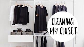 نظفوا خزاناتكم معي! افكار لترتيب الملابس   Cleaning My Closet