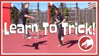 Learn to trick! Cheat 720 tutorial