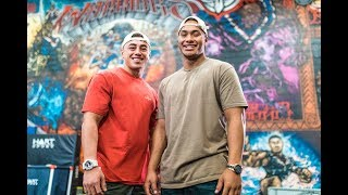 Fresh Season 8 Episode 22 - NZ Warriors Johnny Tuivasa Sheck & Nate Roache