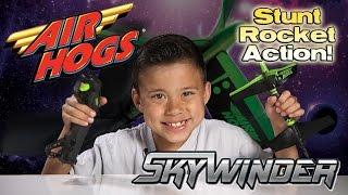 Air Hogs SKYWINDER RC Stunt Rocket Action! [EvanTubeHD CLASSIC WEEK]