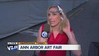 Jennifer Ann Wilson gets brainy at the Ann Arbor Art Fair