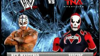 WWE vs TNA Fantasy Card