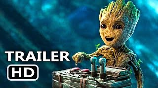 Guardians Of The Galaxy 2 | All Trailers Compilation (2017) Marvel Superhero Movie Trailer HD
