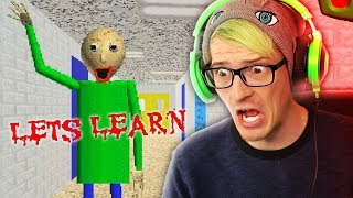 THIS IS A HORROR GAME?! | Baldi