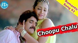 Choopu Chalu Song || Nagarjuna || Trisha - King Movie
