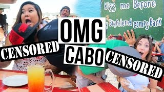 OUR R-RATED DAY IN CABO | Cruise Day #3