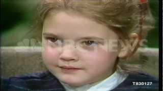 1983 actress drew barrymore discusses her career  et  wwwnbcuniversalarchivescom