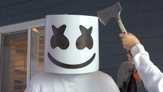 What's inside Marshmello Helmet?