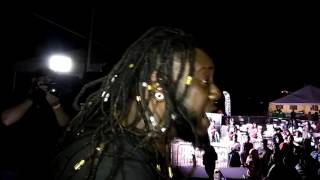 T-Pain mic gets cut off Family Homecoming