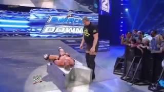 Big Show Attacks Santino Marella & Zack Ryder - WWE Smackdown 6_1_12.mp4