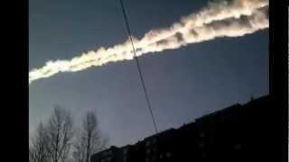 Căderea şi explozia unui meteorit - 15 februarie 2013