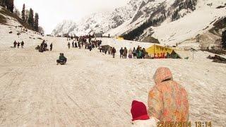 Sonamarg Sight Seeing - Thajiwas Glacier Video - Kashmir Tourism
