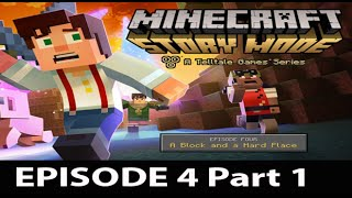 Minecraft Story Mode Episode 4 Walkthrough Part 1 - No Commentary Gameplay