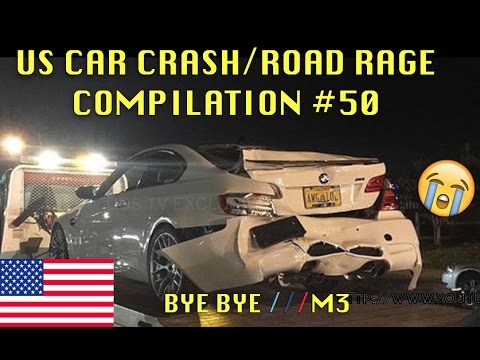 watch 🇺🇸 [US ONLY] US CAR CRASH/ROAD RAGE COMPILATION #50