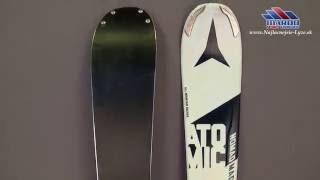 lyze ATOMIC NOMAD Magnet 2016 woodc  Titanium , all mountain rocker + atomic XTO 12 arc