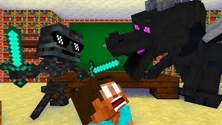 Monster School : BRAVE CHALLENGE - Minecraft Animation