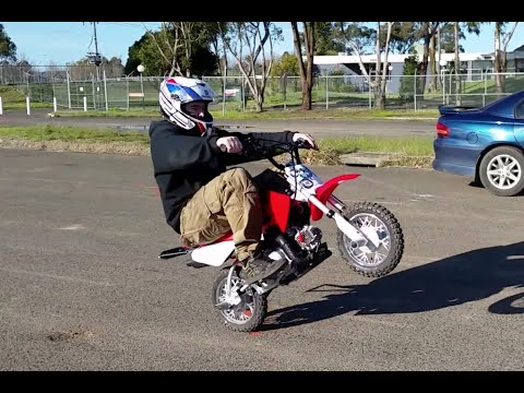 Stock crf50 Wheelies - 2014 crf50
