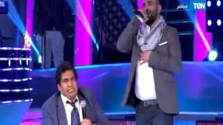5 مواه - عدوية يشارك الفنان أحمد سعد في غناء أجمل موال حزين