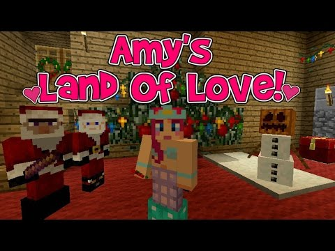 Amy's Land Of Love! Ep.123 Santa And The Witch! Christmas Special! | Minecraft | Amy Lee33