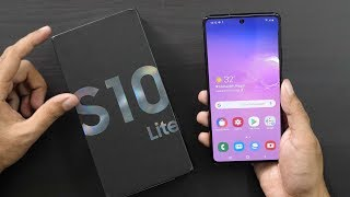 Samsung S10 Lite with Snapdragon 855 Unboxing & Overview (Indian Unit)