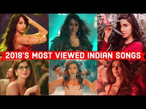 2018's Top 20 Most Viewed Indian/Bollywood Songs on YouTube | Hindi, Punjabi Songs